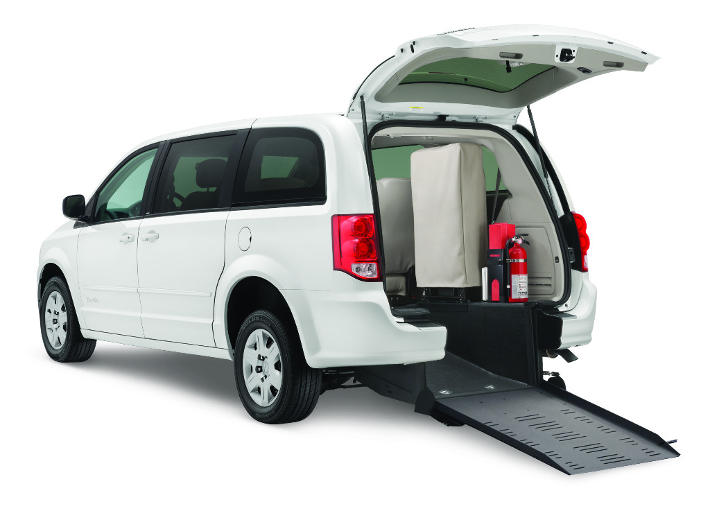Rear-Entry Dodge Wheelchair Minivan